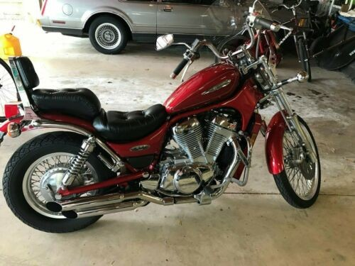 1997 Suzuki VS800 Intruder 800 Red for sale craigslist